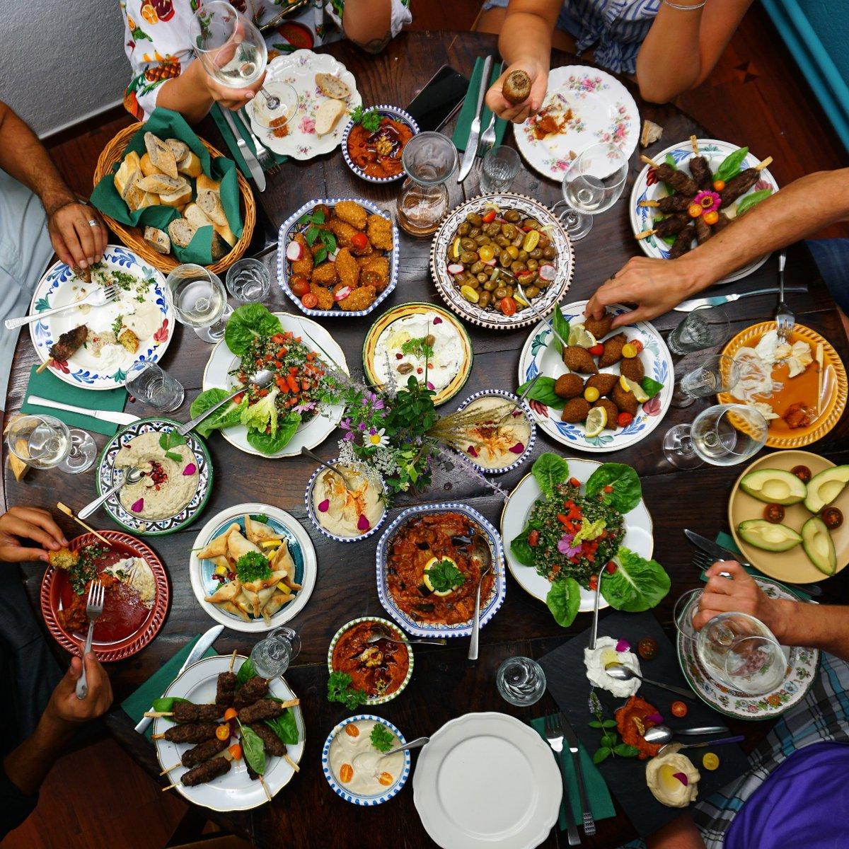 Farbenspiel der orientalischen Küche