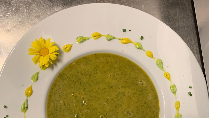Palak Dal Soup