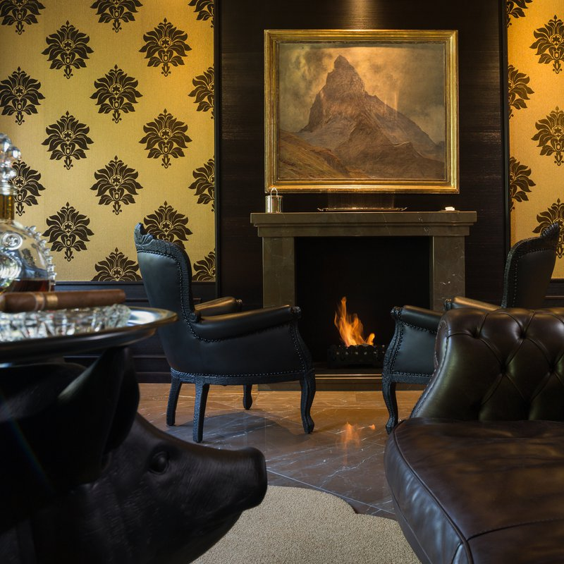 Grand Hotel Zermatterhof - Smokers Lounge