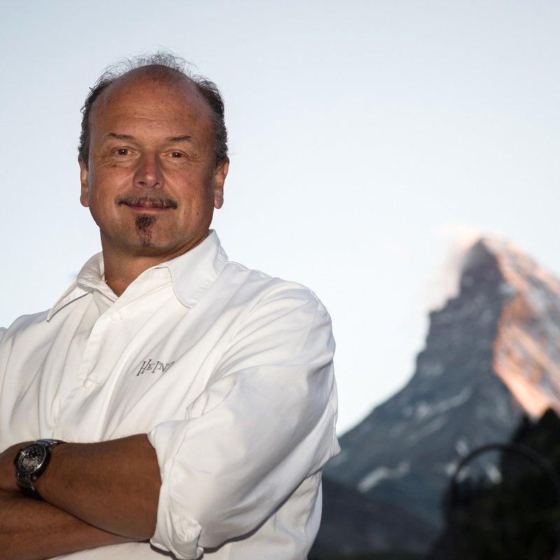 Grand Hotel Zermatterhof - Chef Heinz Rufibach