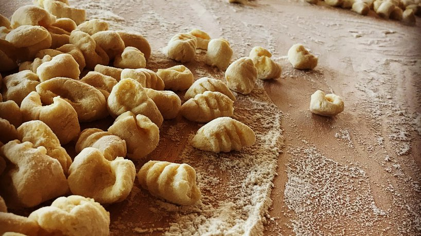 Gnocchi, it's really handmade
