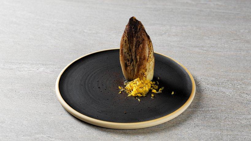 Chicorée / Ziegenkäse / Zitrone