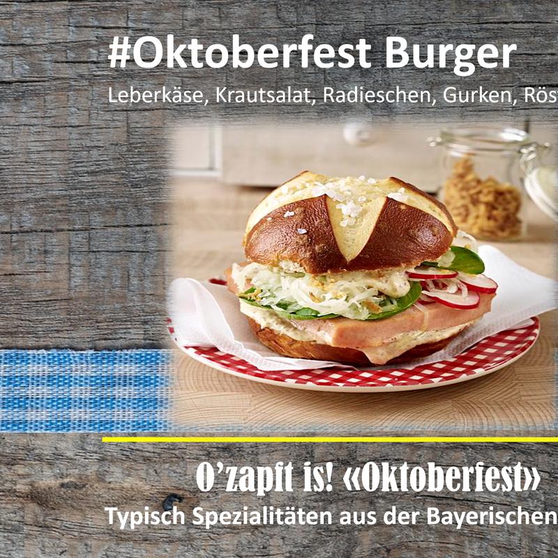 Oktoberfest Burger