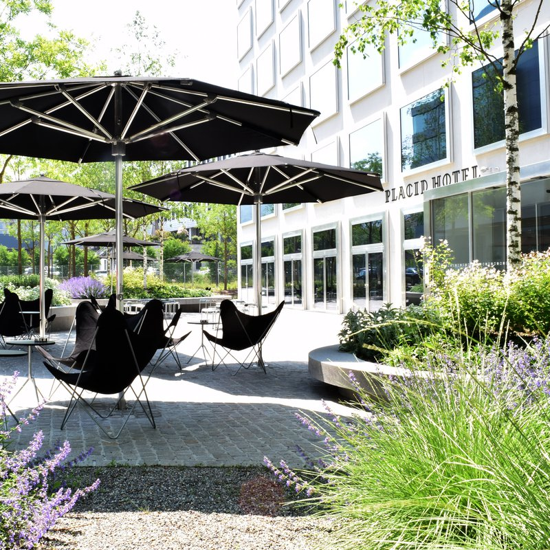 Lounge auf der Terrasse