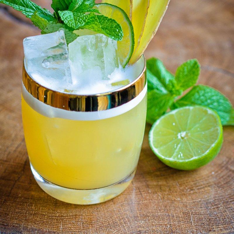 "Cocktail ""Gingerita"""
