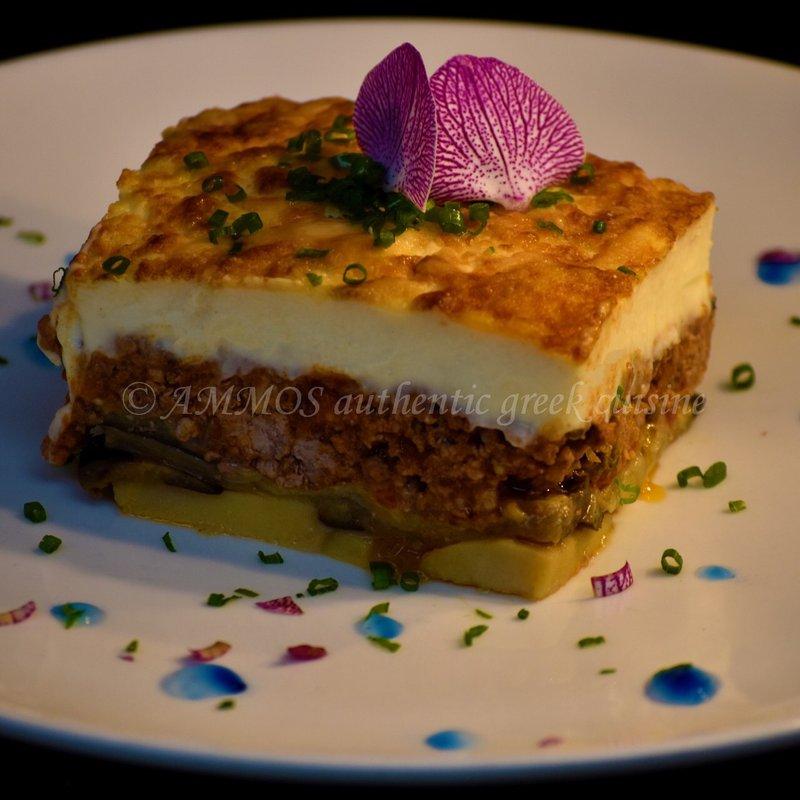 Mousakas Greek Traditional food