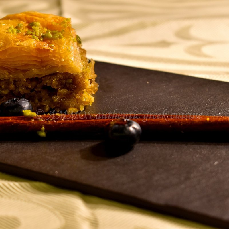 Baklava greek dessert