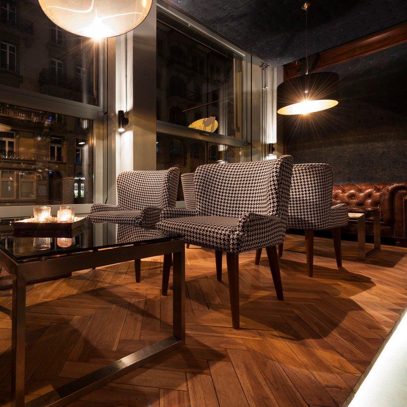 Lounge im vorderen Bereich