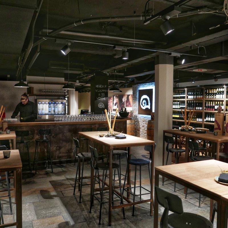 Delinat Weinbar Eingangsbereich