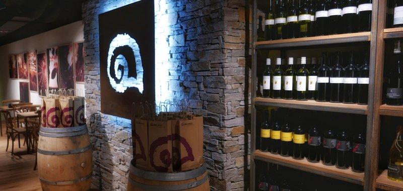 Delinat Weinbar Wein Auswahl