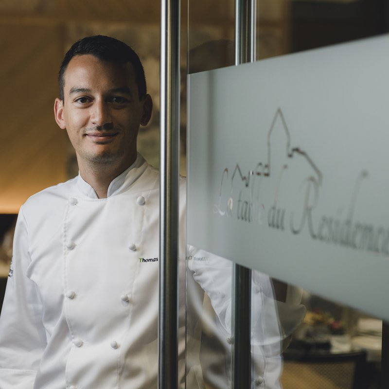 La table Chef Thomas Decock