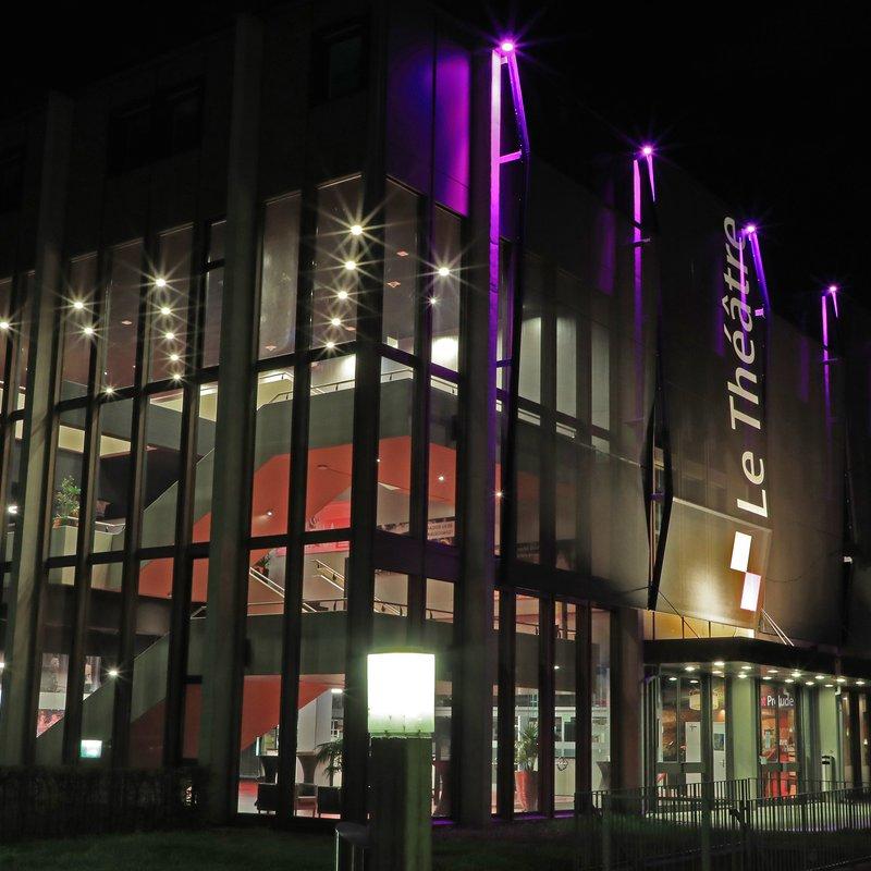 Nach-Aussenansicht Le Théâtre und Restaurant Prélude