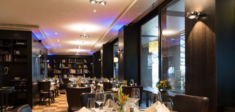 Brasserie Steiger Fensterseite