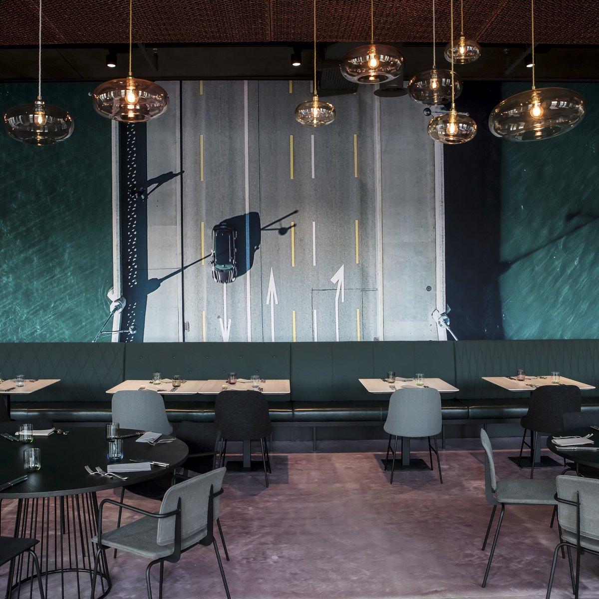 Restaurant BUNT: der hintere Teil des Restaurants