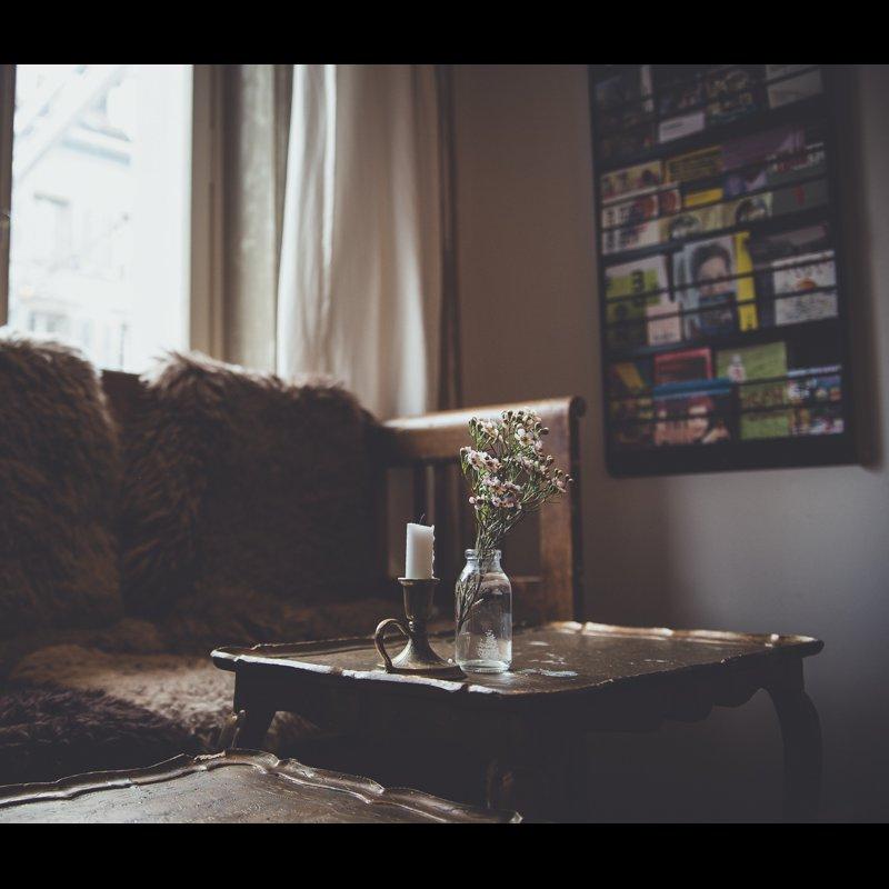 Gaststube mit secondhand Interieur vom Provisorium 46 - Mit viel Liebe zum Detail