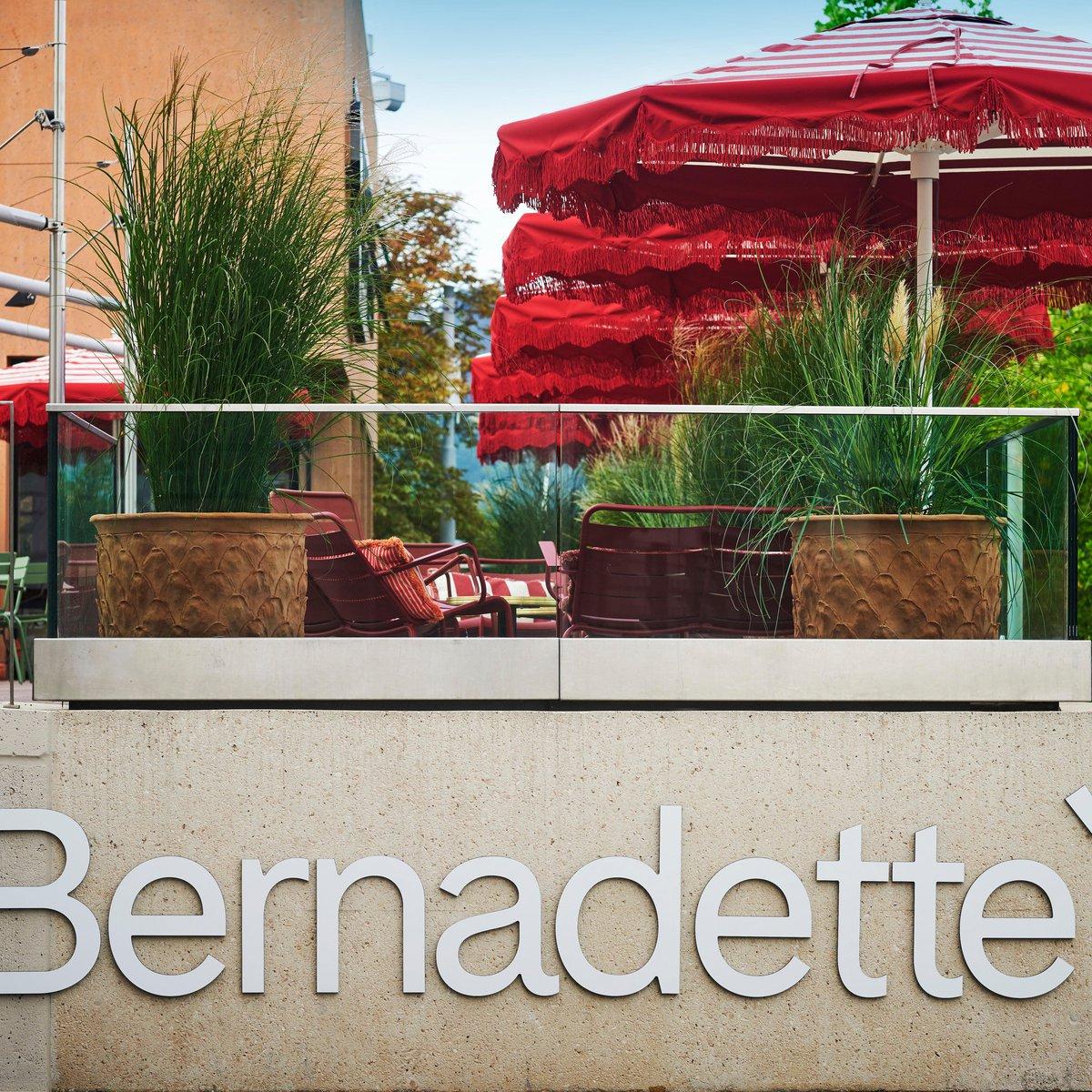 Terrasse des Restaurants Bernadette