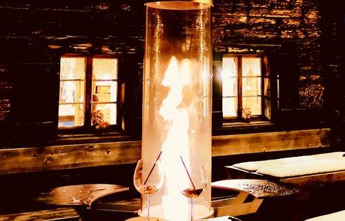 Feuer und Flamme für Outdoorwärme