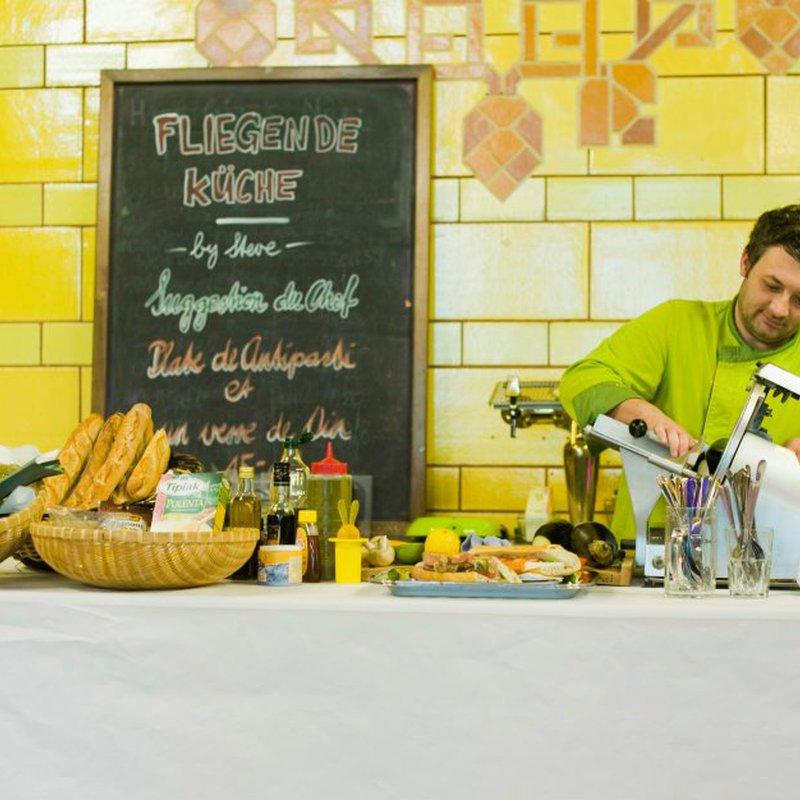 Steve's fliegende Küche