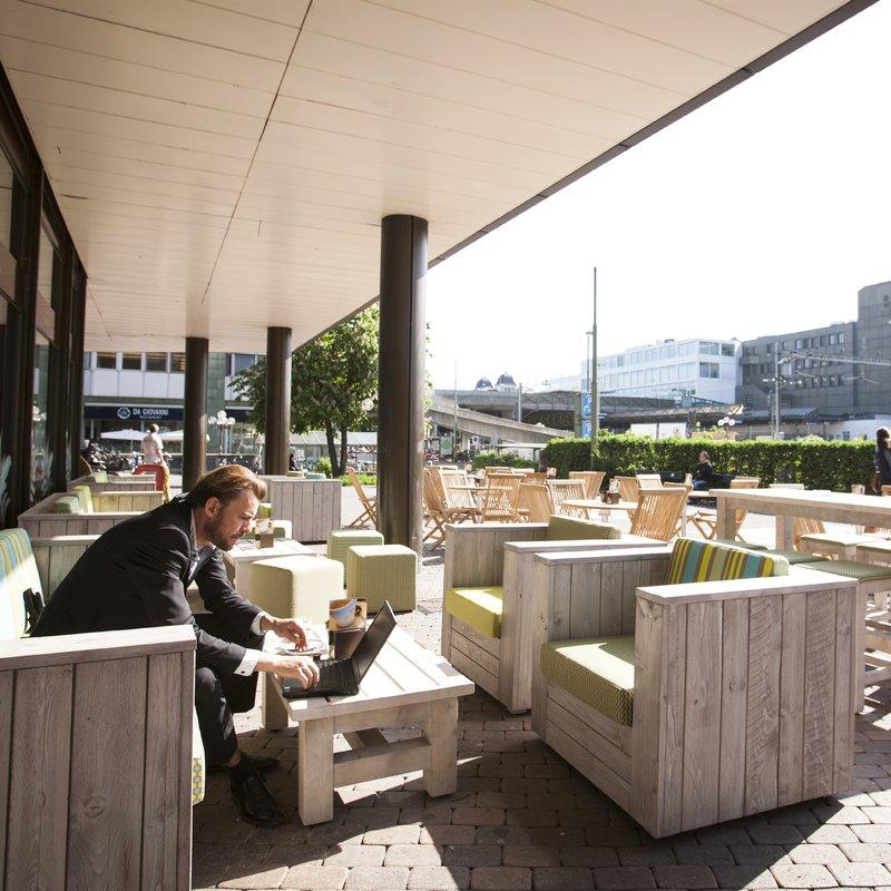Aussenplatz Coffee&Sweets