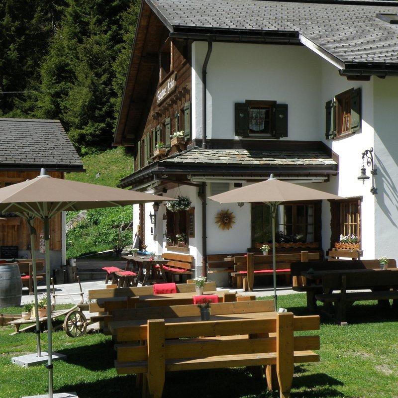 Berghaus Erika im Sommer