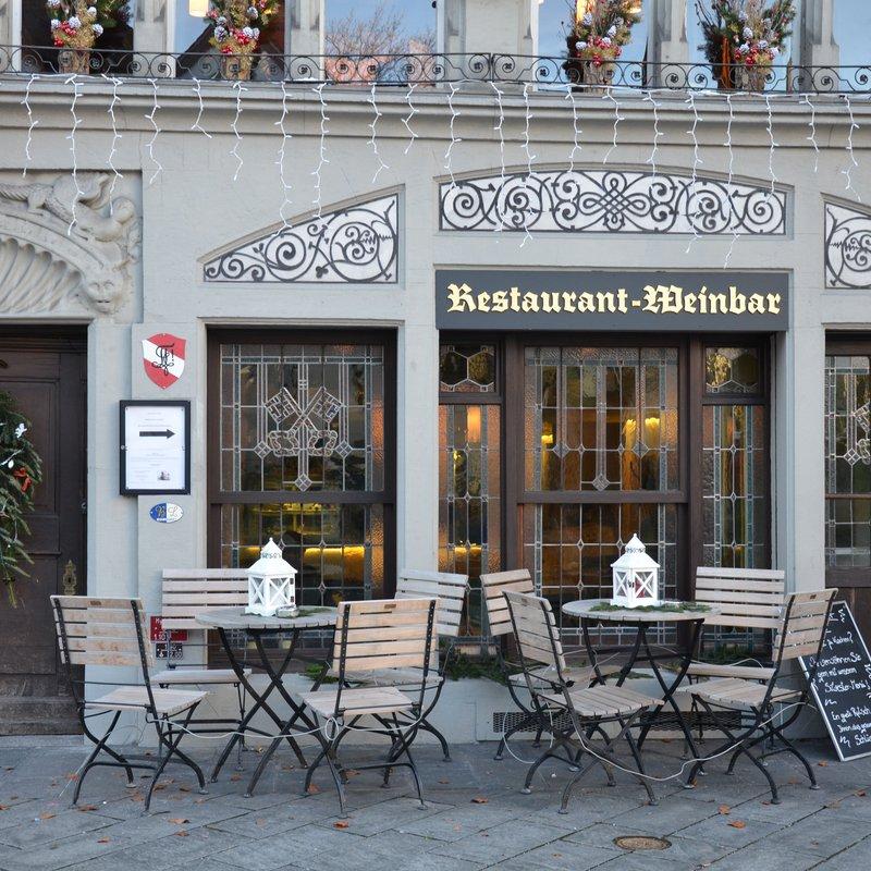 Hoteleingang Franziskanerplatz