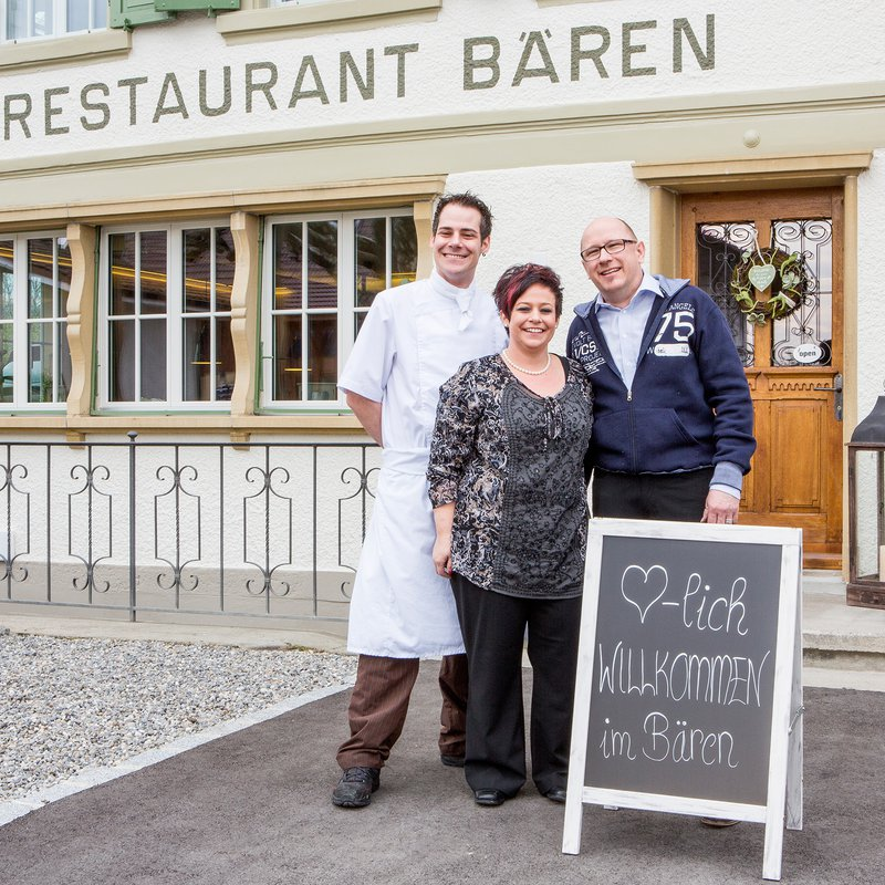 Das Kernteam - Bernhard Gutmann, Daniela und René Muster (v. l. n. r.)