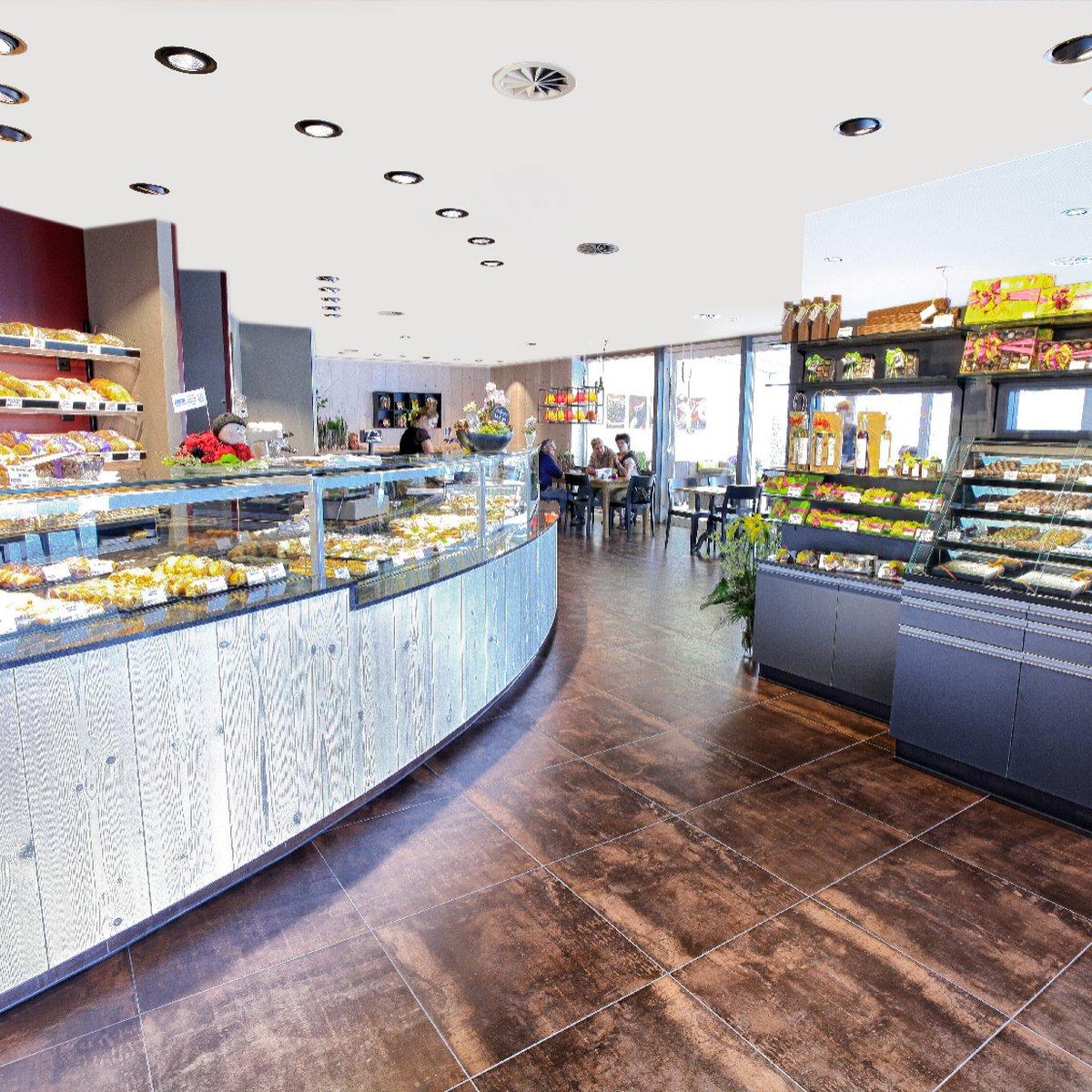 Laden-Café Innen