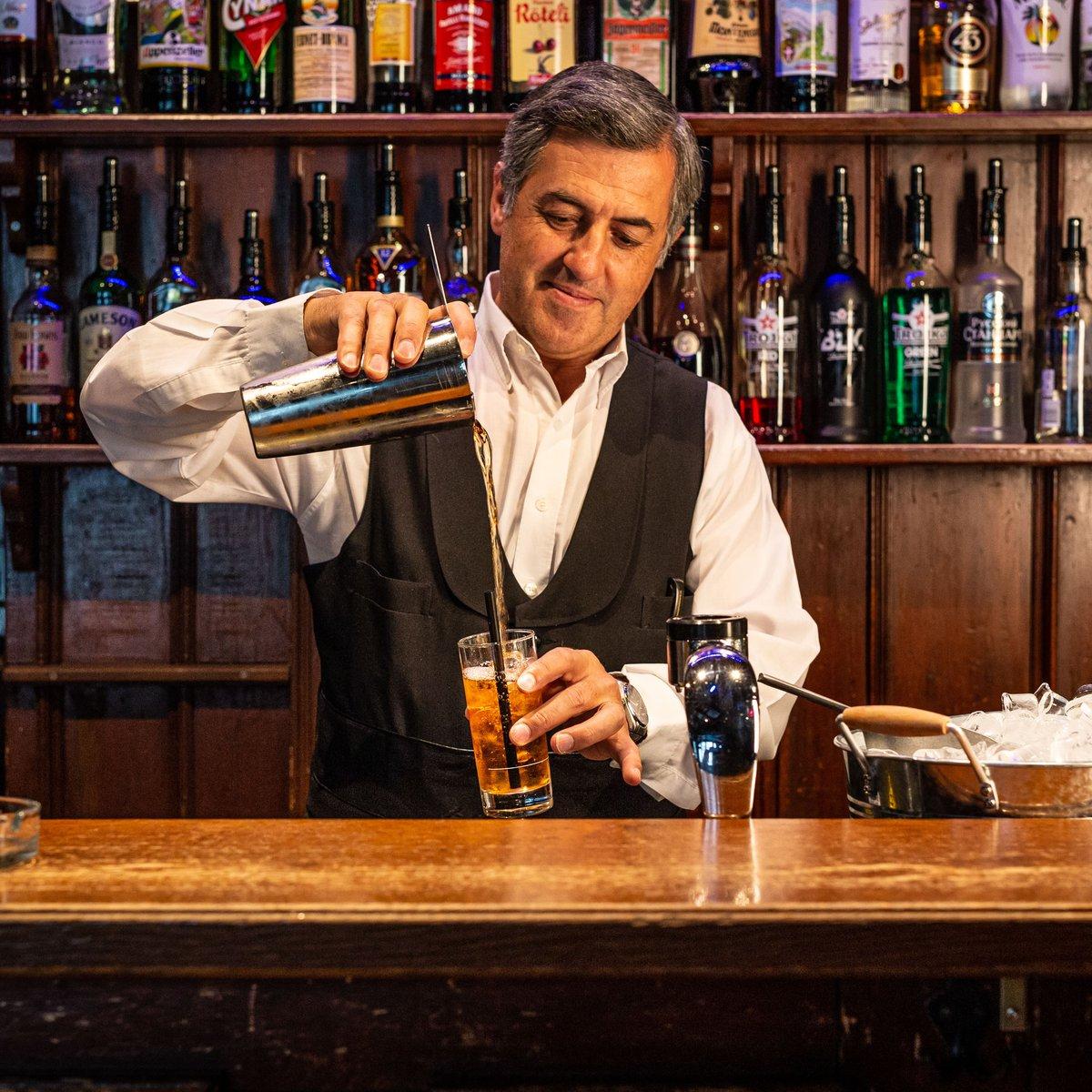 Barman seit über 30 Jahren im Stübli