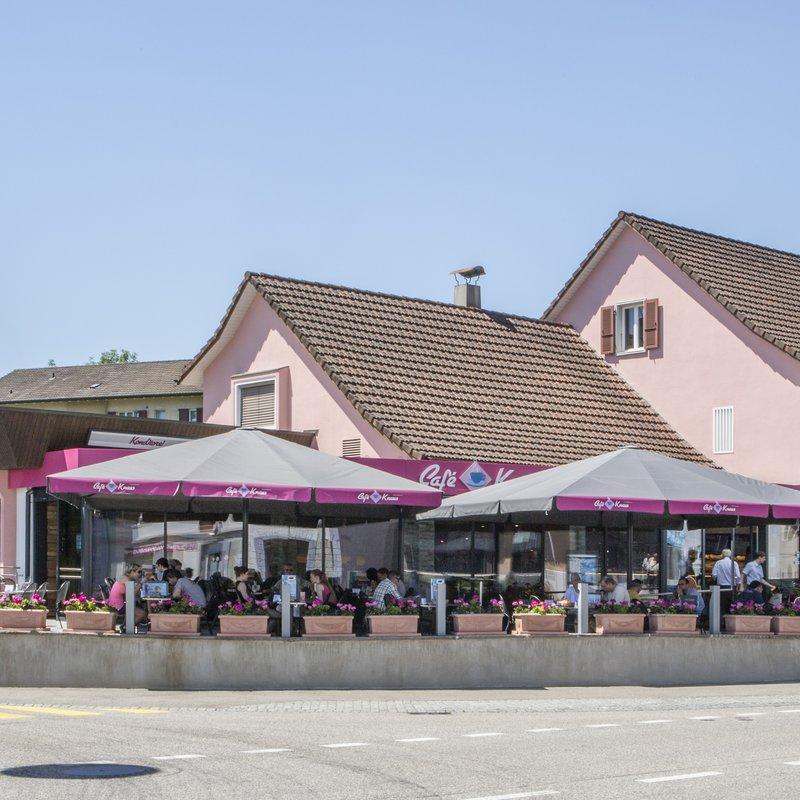 Café Knaus Aussenansicht