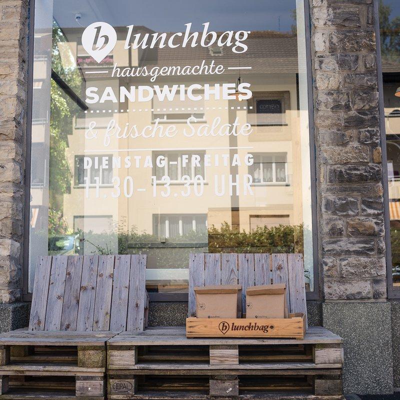lunchbag Schaufenster