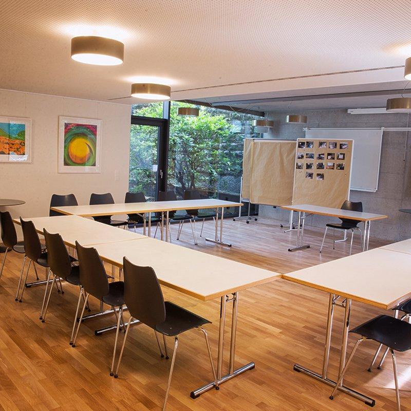 Sitzungszimmer für Anlässe