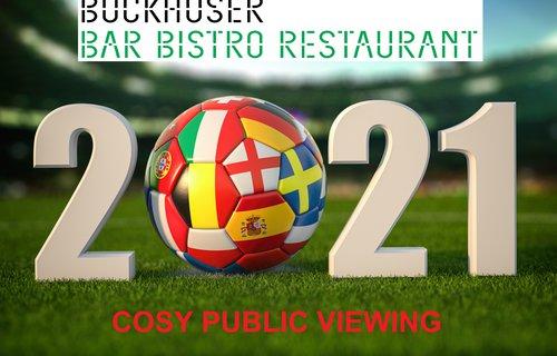 Cosy Public Viewing @ Buckhuser Bar Bistro Restaurant