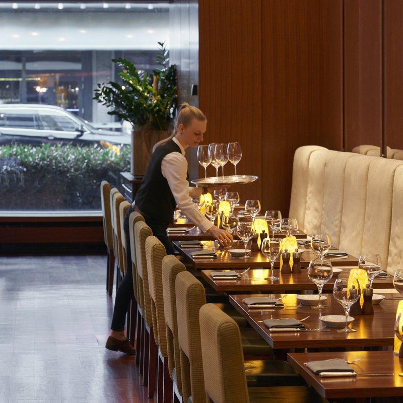 """Restaurant """"parkhuus""""  Tisch"""