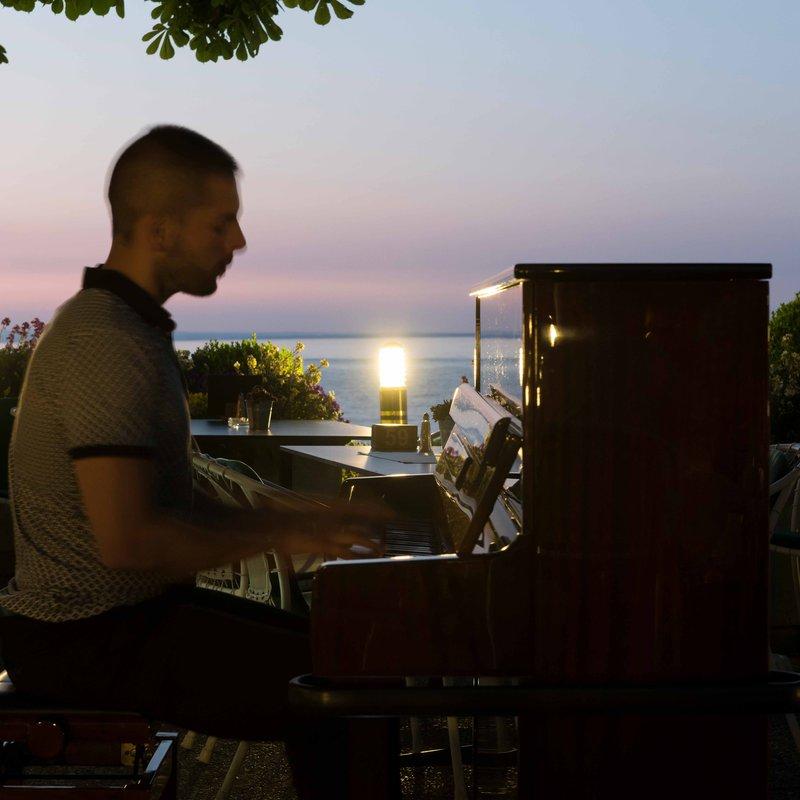 Träume bei Pianomusik