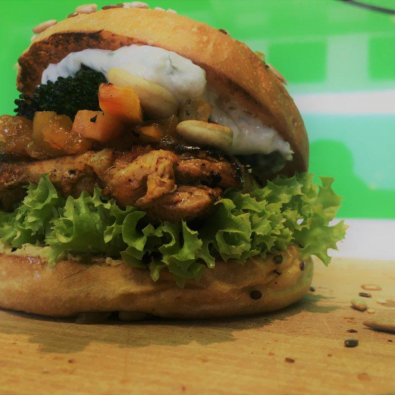 Tandoori Burger