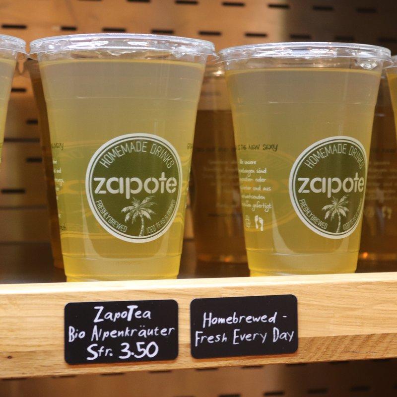 Home Brewed Zapo-Tea