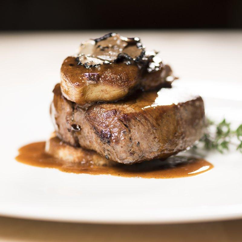 Angus Beef Filet Padella, Restorant La Padella im Hotel Donatz, Samedan