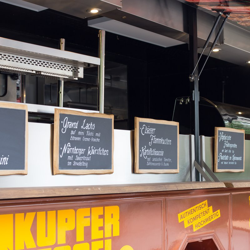 Fingerfood Kupferkessel Foodtruck