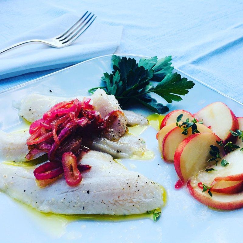 Piatti a base di pesce fresco in base alla disponibilità