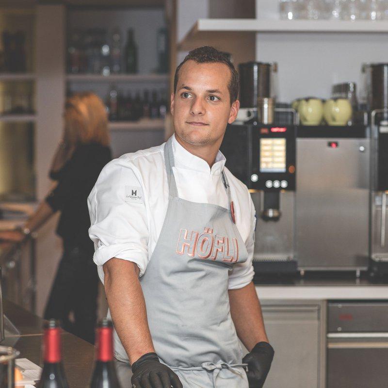Junior Küchenchef HÖFLI Marco Rasera