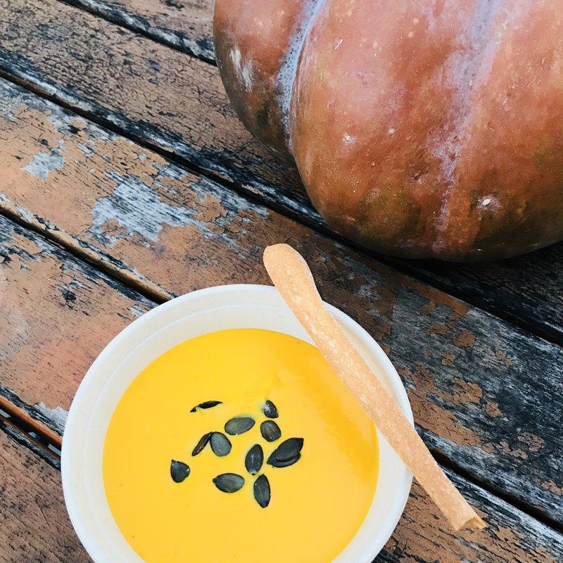Kürbissuppe, nicht nur Pasta