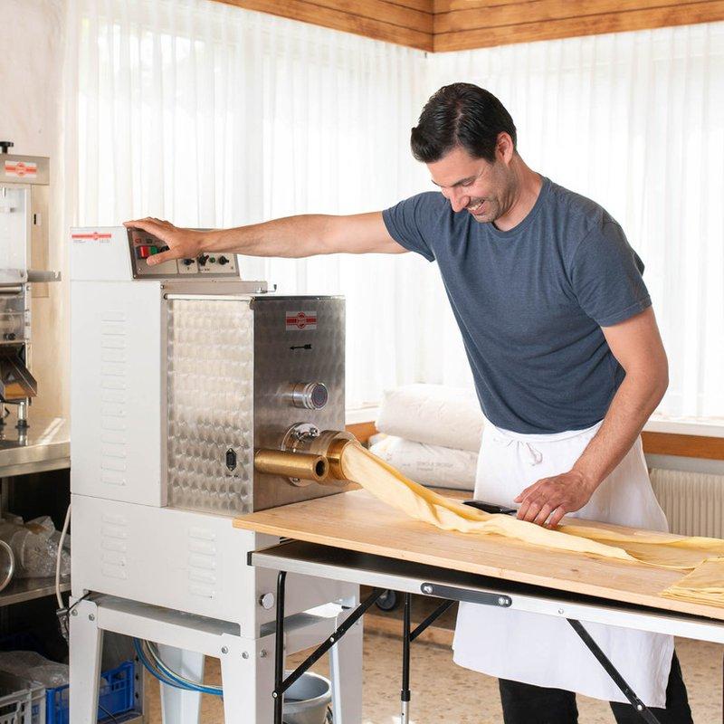 Gabriele bei der Produktion