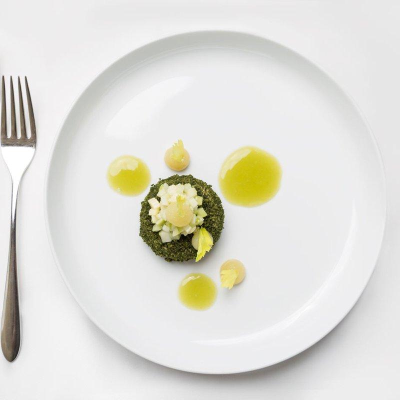 Kreation von Küchenchef Simon Sommer