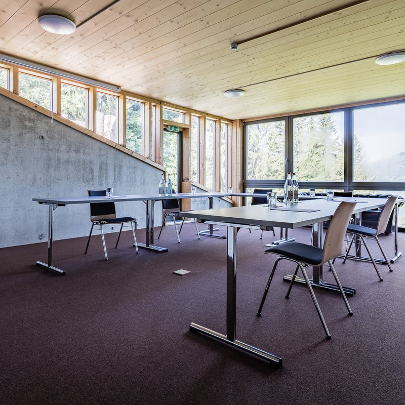 Seminarraum mit Ausblick