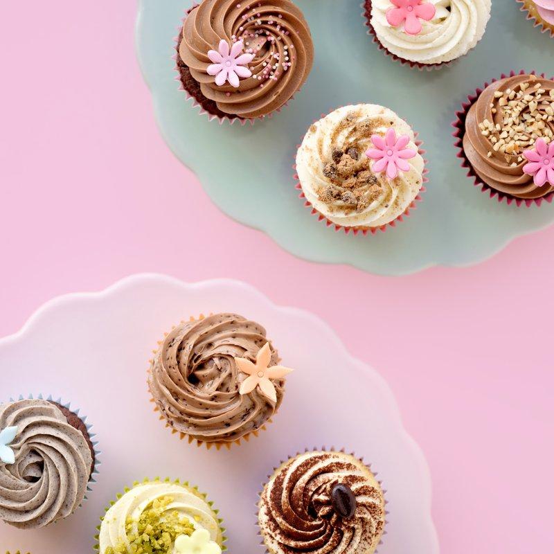 Mit Liebe gemachte Cupcakes
