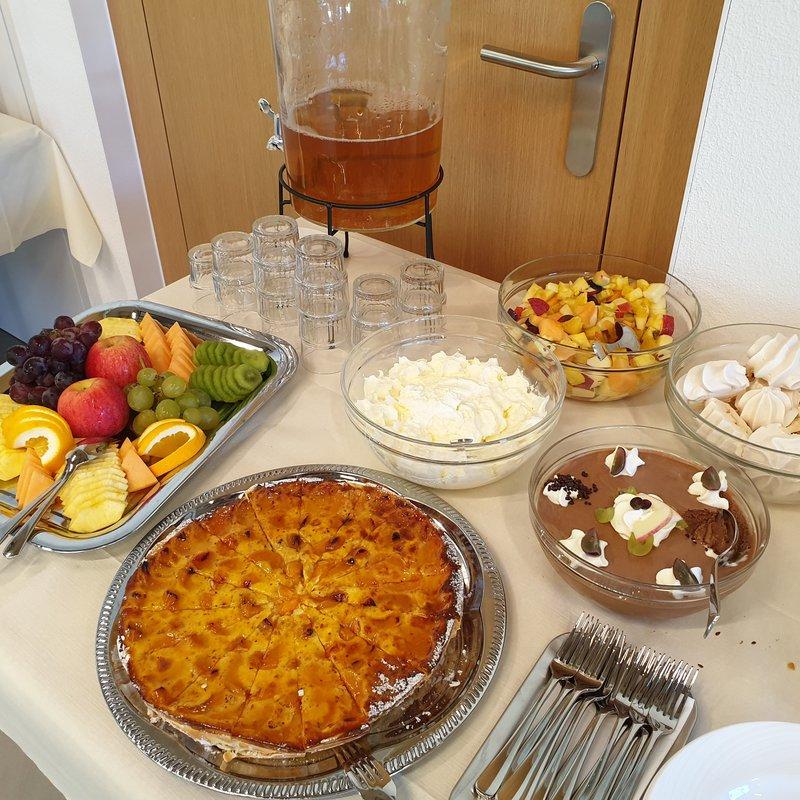 Dessert am Zmorgebuffet
