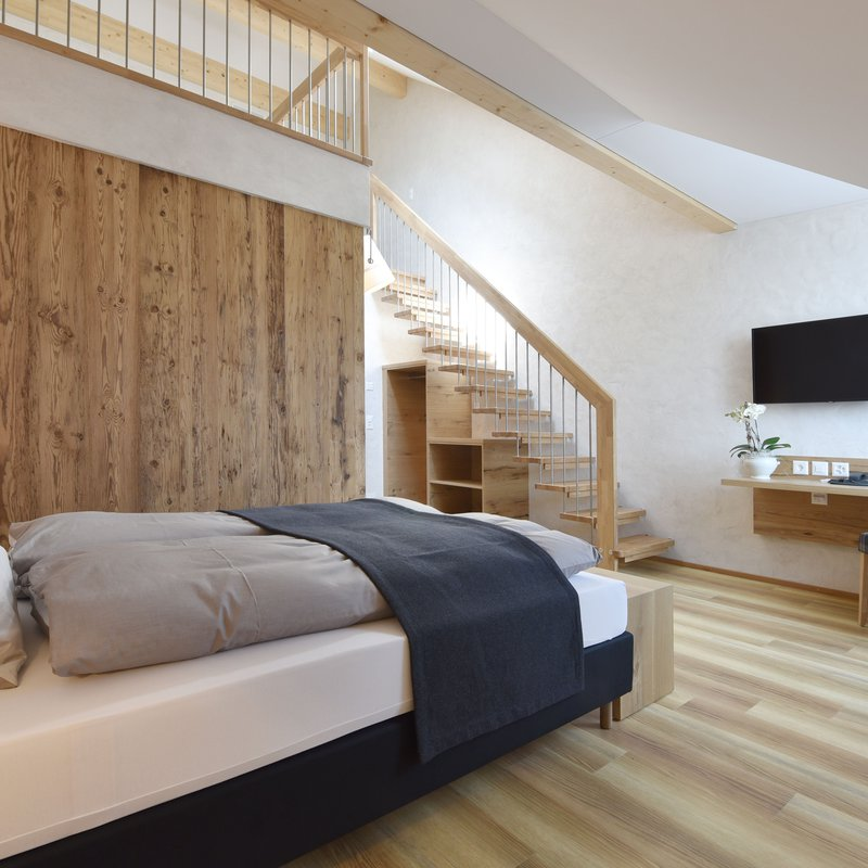 Familien Comfort Zimmer mit Treppe