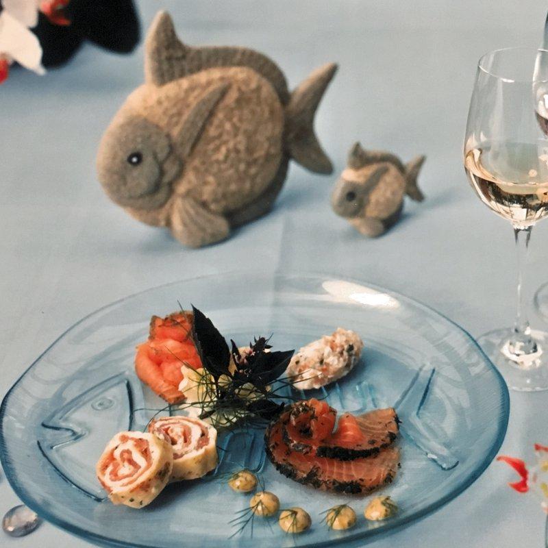 Lachsvariationen vom nach Hausrezept geräuchten BÖMLO-Lachs