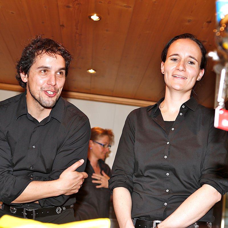 Wirtepaar Kathrin und Kari Langensand Schlüssel Alpnach