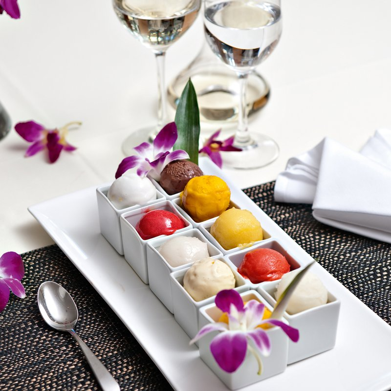 Thailando Dessert Glaceauswahl